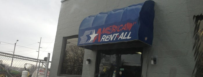 American Rent-All is one of John'un Beğendiği Mekanlar.