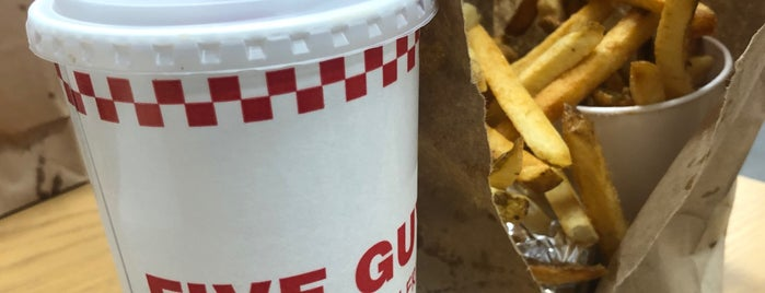 Five Guys is one of Orlando - 2016.
