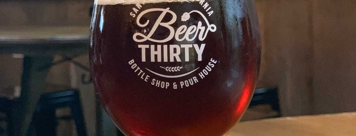 Beer Thirty is one of Santa Cruz awesome spots.