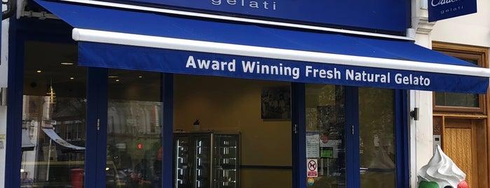 Oddono's is one of Gelato in London.