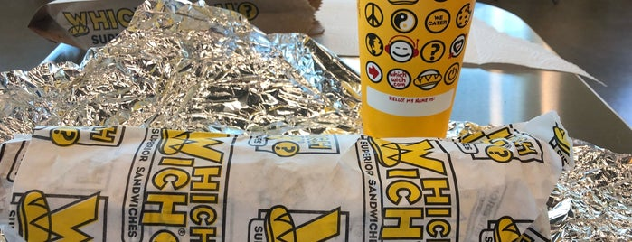 Which Wich Superior Sandwiches is one of School lunch.