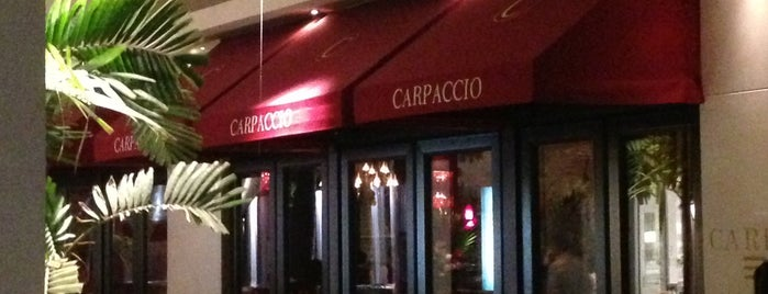 Carpaccio is one of Bal harbour - FL  🇺🇸.