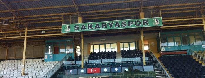Sakarya Atatürk Stadyumu is one of Posti che sono piaciuti a Alper.