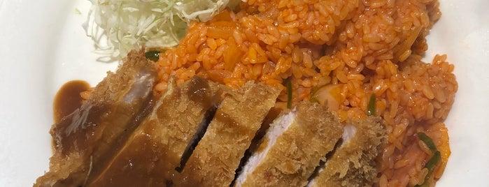 スパゲティ&キッチン ロビン is one of Locais salvos de Hide.