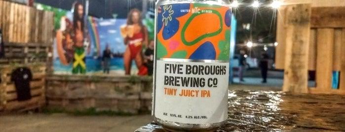 Brooklyn Beer Garden is one of NYC Beer Gardens To-Do List.