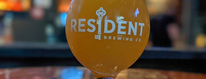 Resident Brewing is one of San D'jeggo.