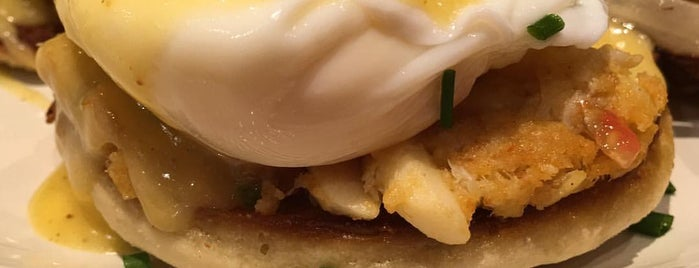 Good Day Café Bad Day Bar is one of America's 50 Best Eggs Benedict Dishes.