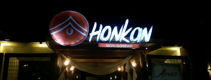 Honkan Sushi Gourmet is one of Locais curtidos por Thiago.
