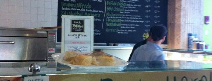 Cafe De Boston is one of Boston Vegan.