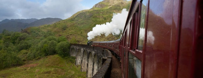 Glenfinnan Viaduct / Harry Potter's Bridge is one of Scotland.