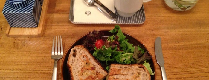 The Monocle Café is one of Breakfast/Brunch in London.