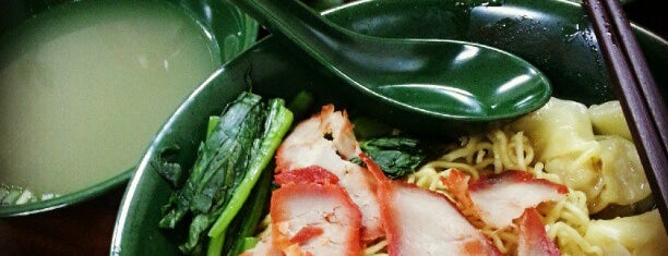 Eng's Noodles House 榮高叉燒雲吞麵 is one of Singapore Food.