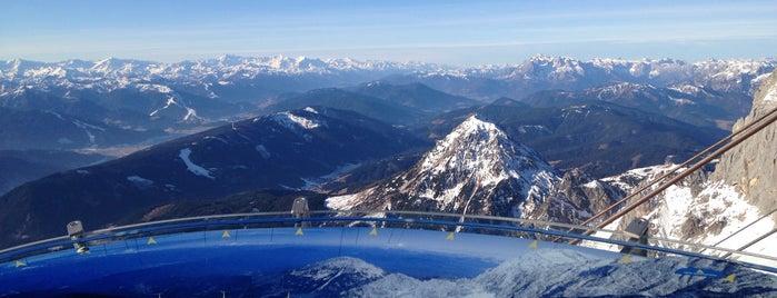 Skigebiet Dachstein Gletscher / Ski amadé is one of Austria2.