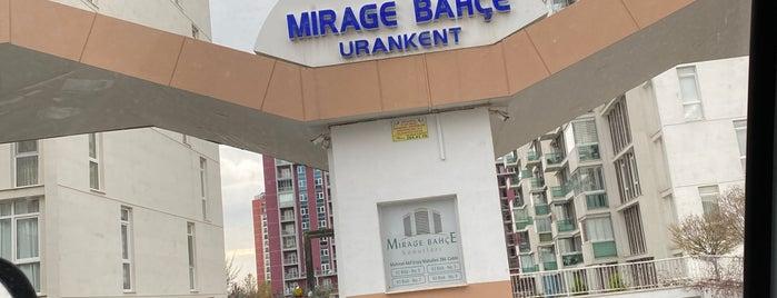Mirage Bahçe Konutları is one of İhsan'ın Beğendiği Mekanlar.