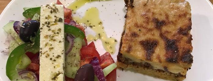 Spitaki Greek Deli Cafe is one of Locais salvos de Alex.