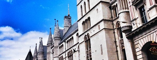 Royal Courts of Justice is one of London Favorites.