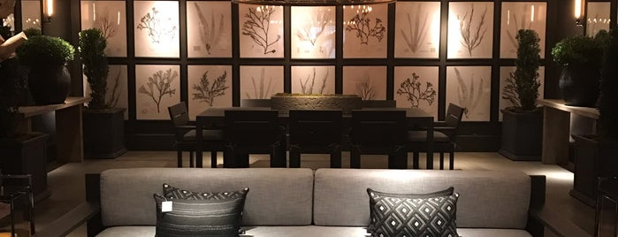 Restoration Hardware is one of NYC Best Shops.