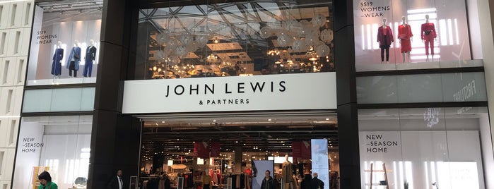 John Lewis & Partners is one of Lugares favoritos de Paul.