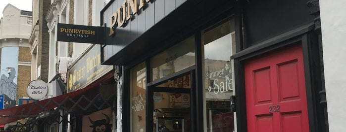 Punkyfish is one of LDN STORES.