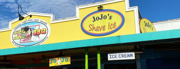 JoJo's Shave Ice is one of Kauai.