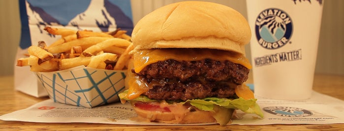Elevation Burger is one of places to try.