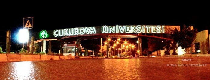 Çukurova Üniversitesi is one of Emine 님이 좋아한 장소.