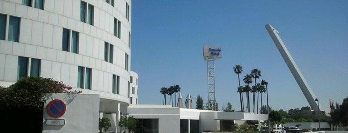 Hotel Barceló Sevilla Renacimiento is one of Lugares favoritos de Ruth.