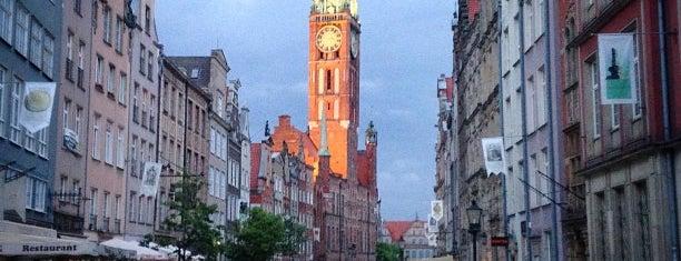 Główne Miasto is one of Gdansk.