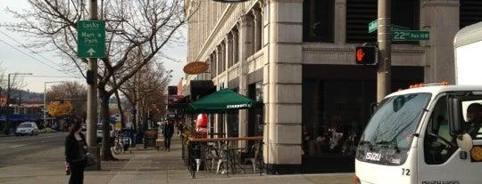 Starbucks is one of Orte, die Dani gefallen.