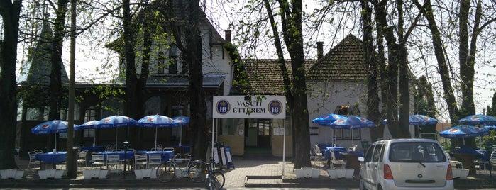 Vasúti Vendéglő is one of Pécs, Harkány, Villány.