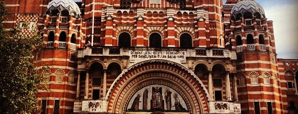 Westminster Cathedral is one of London, UK (attractions).