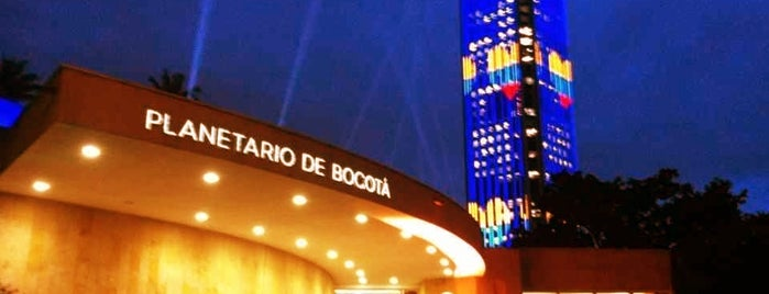 Planetario de Bogotá is one of Lugares favoritos de Sergio M. 🇲🇽🇧🇷🇱🇷.