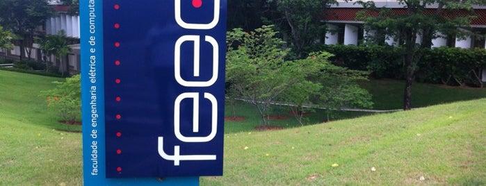 Faculdade de Engenharia Elétrica e de Computação (FEEC) is one of unicamp.