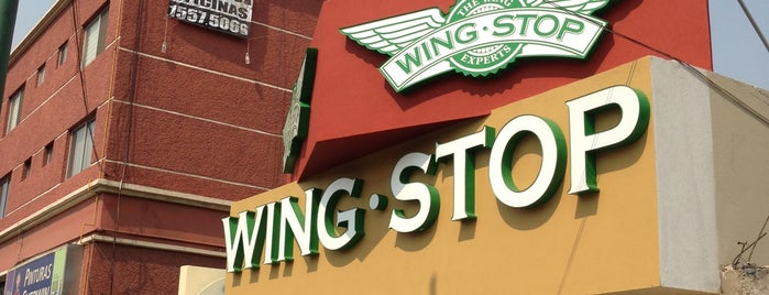 Wingstop is one of Locais curtidos por Christopher.