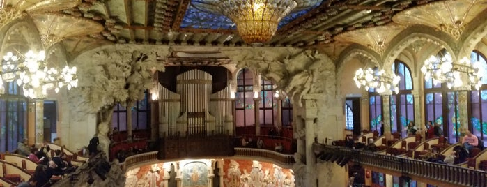 Palau de la Música Catalana is one of Posti che sono piaciuti a Susana.