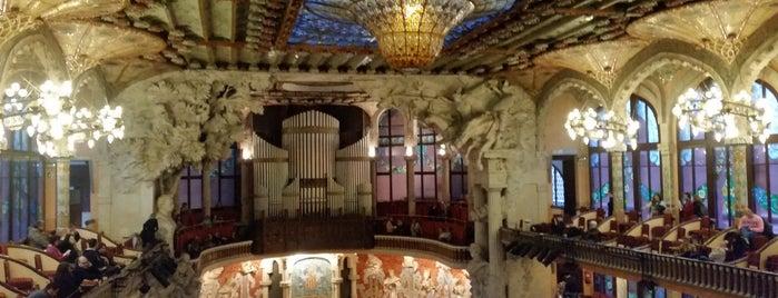 Palacio de la Música Catalana is one of Lugares favoritos de Susana.