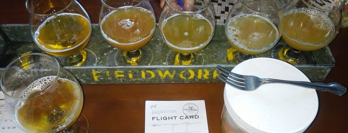 Fieldwork Brewing Company is one of San Francisco.