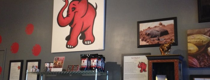 Red Elephant Chocolate Cafe is one of Milwaukee.