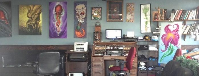 Black Anvil Tattoo Shop is one of Posti che sono piaciuti a Delisa.