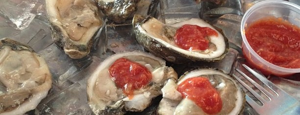 Garcia's Seafood Grille & Fish is one of Oysters.
