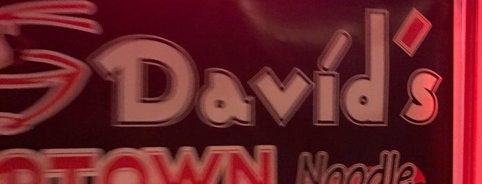 Dave's Uptown Noodle is one of Locais salvos de Jessie.