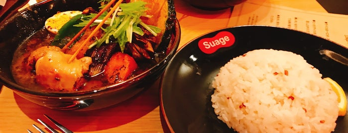 suage is one of TOKYO-TOYO-CURRY 4.