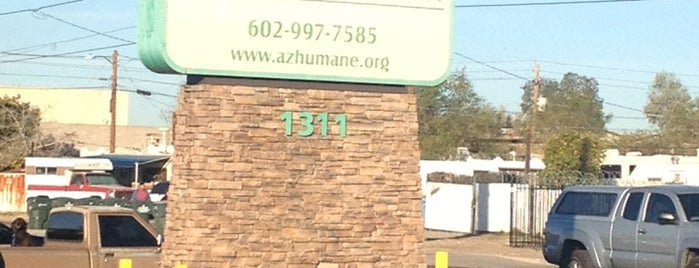 Arizona Humane Society Thrift Store is one of PHX Pets in The Valley.