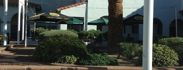 Good Shepherd Plaza is one of PHX Patios in The Valley.