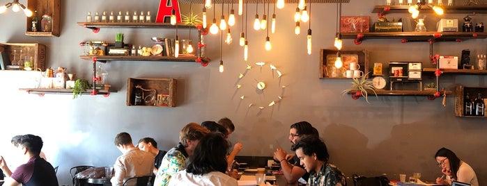 Alchemist Coffee Project is one of LA Coffee Shops Offering Free Wi-Fi.