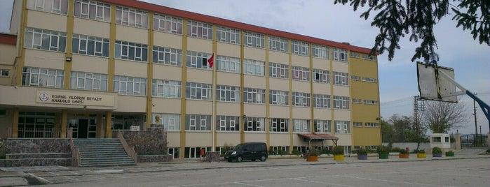Edirne Yıldırım Beyazıt Anadolu Lisesi is one of Top 10 places to try this season.
