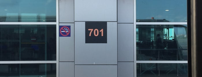 Gate 701 is one of Erkanさんのお気に入りスポット.