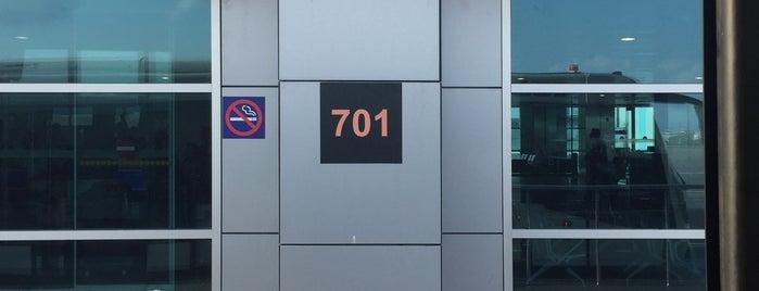 Gate 701 is one of Locais curtidos por Erkan.