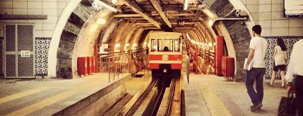 Tünel Meydanı is one of Istanbul by Kenan and Javairia.