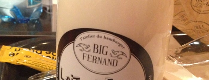 Big Fernand Montorgueil is one of Meilleurs burgers de Paris.